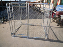 Simple and practical dog runs/ portable out door dog runs /dog cages direct factory