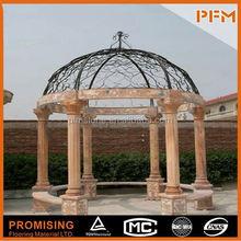 PFM Chinese handmade vivid house sculpture marble garden dog statue for hotel&villa project design