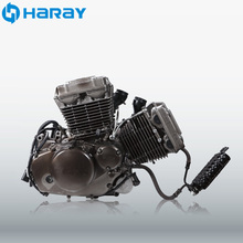 Chinese Vertical 250cc V Twin Motorcycle Engine