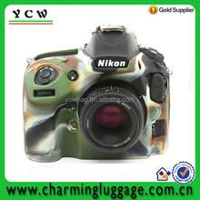 Silicone camera cover/camouflage camera bag for Nikon