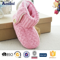 Plastic bag ladies winter durable boots shoes