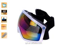 720P video Ski Goggles Camera anti-fog skiing glasses digital camera hidden