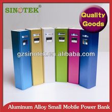 SINOTEK lipstic 2200mah power bank promotion for christmas gift