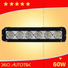 top quality aluminum casting 60w CE/Rohs approved led flashing light bar