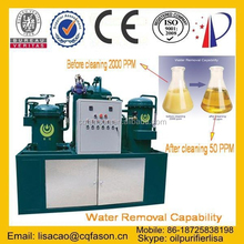 Demulsification multi-function power saving transformer oil dehydrator