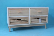 high quality wooden cabinet with 4 drawers