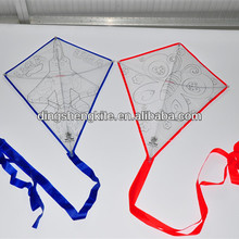 teaching DIY drawing kite with colour pens for kids
