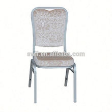 aluminum metal banquet chair for party aluminium banquet chair hotel steel banquet chair