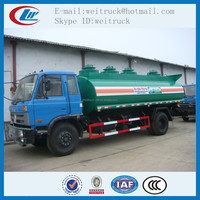 Competitive advantage customized dongfeng 15cbm mobile diesel tank truck , fuel tanker trailer, fuel tank truck manufactures
