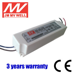 20W waterproof IP67 constant current dimmable led driver 700mA with 2years warranty CE RoHS UL