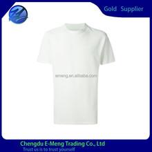 2015 Wholesale Custom O-neck Blank T-shirt Size S M L XL XXL XXXL
