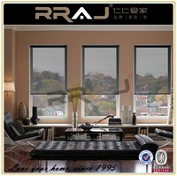 motorized electric roller blind window / electric rolling curtain