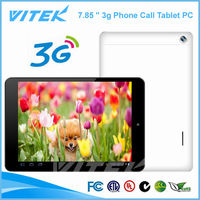 Electronics MTK8382 7.85 inch Quad Core New China 3G Tablet
