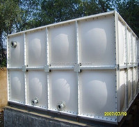 Environmental FRP sectional SMC water tank Chilling Water Tank