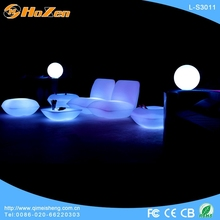 Supply all kinds of modern LED chair image,half leather LED chair sets