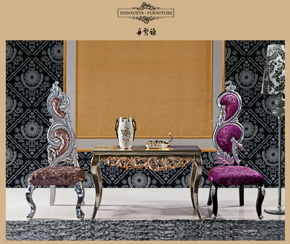 Royal Silver Neo Rococo Luxury Fabulous Modern Baroque Living Room Chair Antique Furniture View