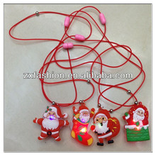 latest promotion Christmas led necklace for kids