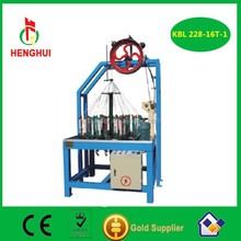 384 Series 16 Spindle High Speed Double Braidied Rope Braiding Machine