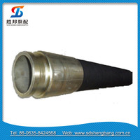High temperature flexible rubber hose pipe 85 bar / EPDM hose