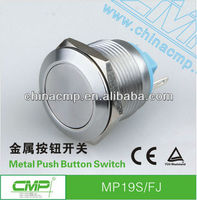 CMP waterproof momentary 19mm push button switch