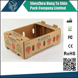Made in China high quality 3ply or 5ply fruit packaging box
