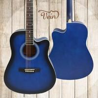 wholesale beginner acoustic guitar linden cheap musical instrument
