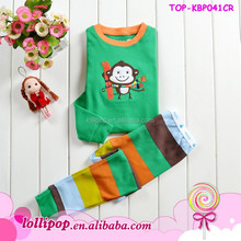 Baby long sleeve pajamas cotton baby outfits pajamas sleeping wear suit sets