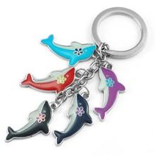 fish shaped keychain/key chain/key holder