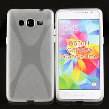 New X line tpu soft Gel skin back cover case for Samsung Galaxy Grand Prime(G530HG5308W)