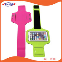 New products mobile accessories soft material running sport armband for Iphone 6
