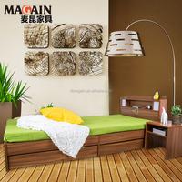 hot sale bedroom furniture wooden single bed