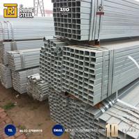 Professional Greenhouse Project galvanized rectangular steel tube