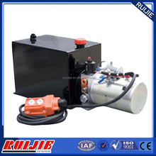gold supplier small 12 volt hydraulic power unit for tipper trailer 2