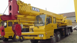 old/half new tyre/construction crane 55 ton,high quality and best price