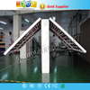 hot selling double sided outdoor full color programmable led sign