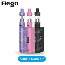 Best Vaporizer Black/Purple/Pink Kanger SUBOX Nano kit 50w Subox Nano