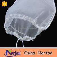 200 Mesh Food Grade Small Nylon Mesh Drawstring Bag NTM-F1647B