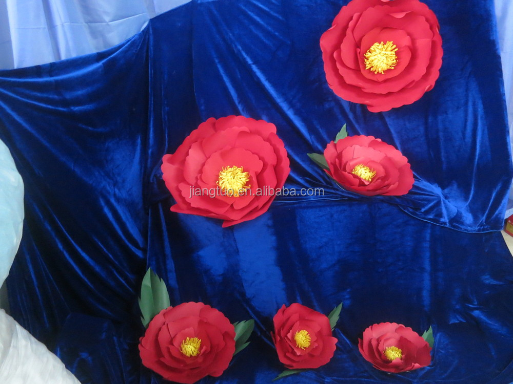 2014 wholesale handmade Boutique Giant Paper Flowers