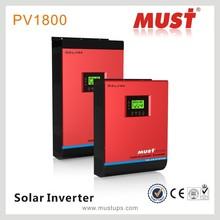 MUST Inverter Solar Power 1K-5K DC AC Solar Power Inverter with PWM/MPPT controller