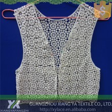 813011 designs guipure embroidery manufacturers cotton vest lace african guipure lace fabric