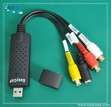 Cheap Easy to USE Audio Video Capture/ DVR Card/ USB DVR for CCTV camera