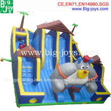 Jumping Castle Inflatable Princess Bouncer Moonwalk With Princess Theme