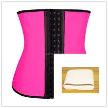 Sample available Wholesale 80% Natural Latex Plus Size Waist Training Corset in Stock