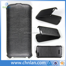 Hot sale ultra slim magnetic pu wallet leather case for Fly IQ 4405 Evo Chic