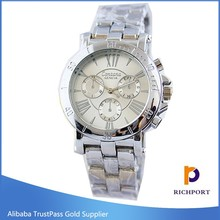2015 newest colorful cheap luxuruy alloy women wrist watch