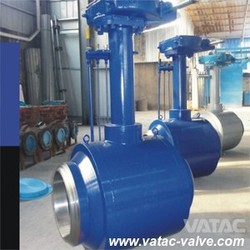Gear Operated BW Ending Forged Steel A105/LF2/F304/F316 Full Weld Ball Valve Wenzhou Manufacturer