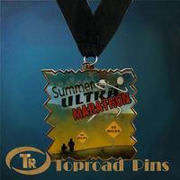 SMart design idea for iron silver medal