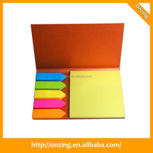 Onzing new bulk sticky notes in the plastic box