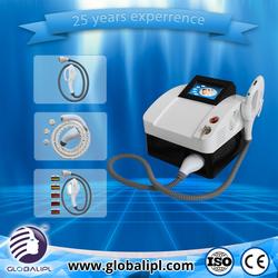 Mini beuaty machine 3 in 1 rf e light machine ipl