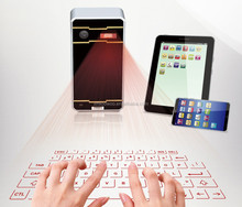 Magic design high technology bluetooth laser virtual keyboard for iPad ,iPhone ,tablet pc